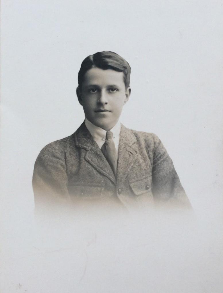John Angus Bagnall (Jack) earlier aged 16 1/2 at Loretto School