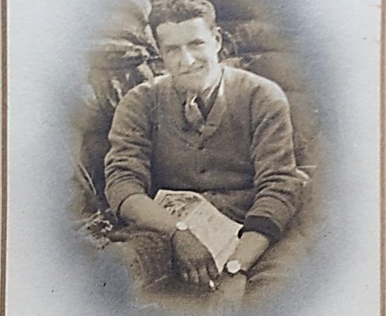 Lieut. Jack Bagnall, Ypres Salient, Spring 1916